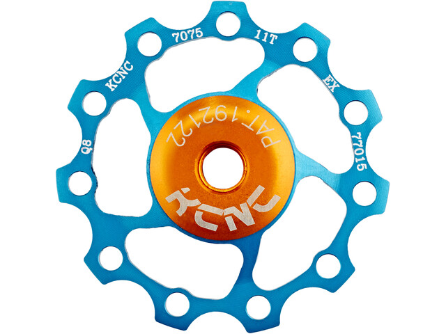 KCNC Jockey Wheel 11 tanden SS Lager, blue